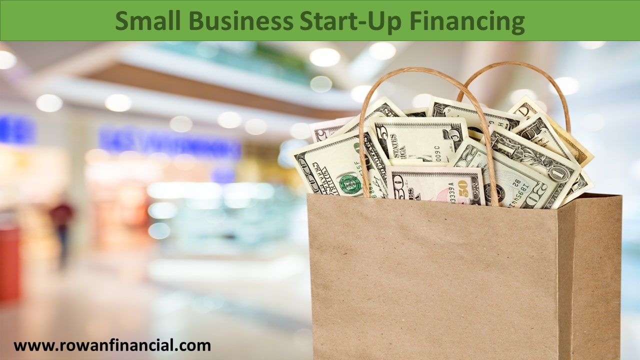 how to finance a small business start up